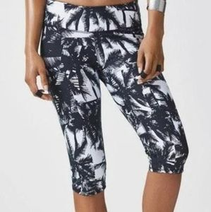 Fabletics Palm Tree Crop Leggings